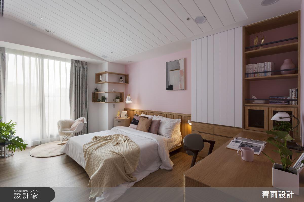 86坪新成屋(5年以下)_現代風臥室案例圖片_春雨設計_春雨_84之20