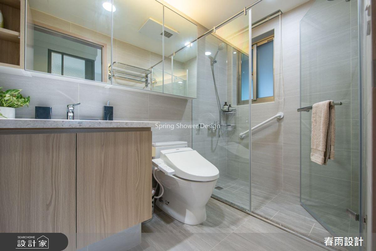 28坪老屋(16~30年)_現代風浴室案例圖片_春雨設計_春雨_89之23