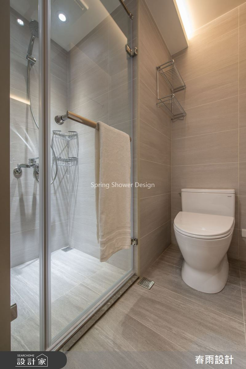 28坪老屋(16~30年)_現代風浴室案例圖片_春雨設計_春雨_89之25