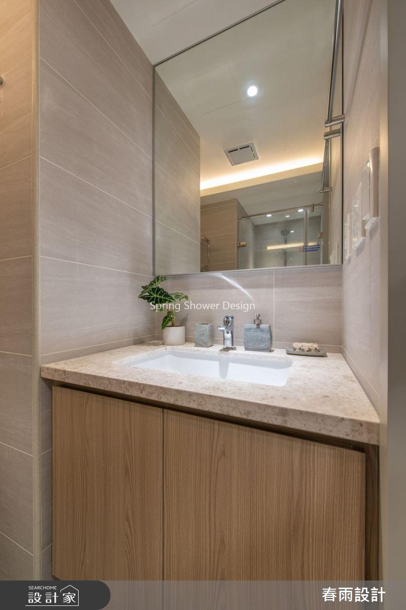 28坪老屋(16~30年)_現代風浴室案例圖片_春雨設計_春雨_89之24