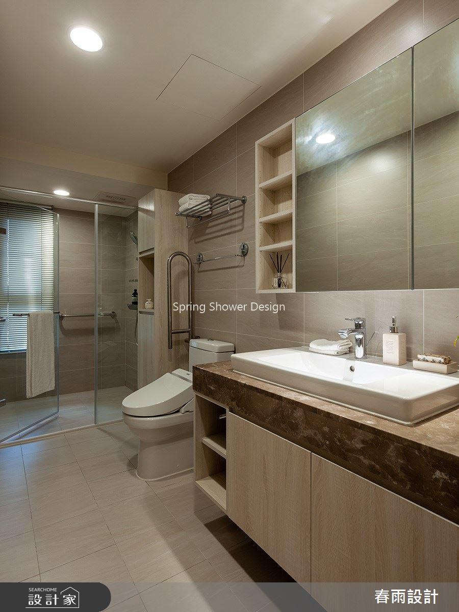 41坪新成屋(5年以下)_現代風浴室案例圖片_春雨設計_春雨_92之31