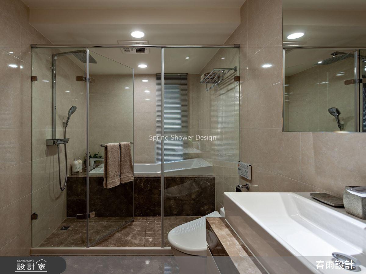 41坪新成屋(5年以下)_現代風浴室案例圖片_春雨設計_春雨_92之26