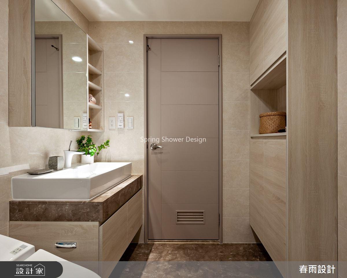 41坪新成屋(5年以下)_現代風浴室案例圖片_春雨設計_春雨_92之27