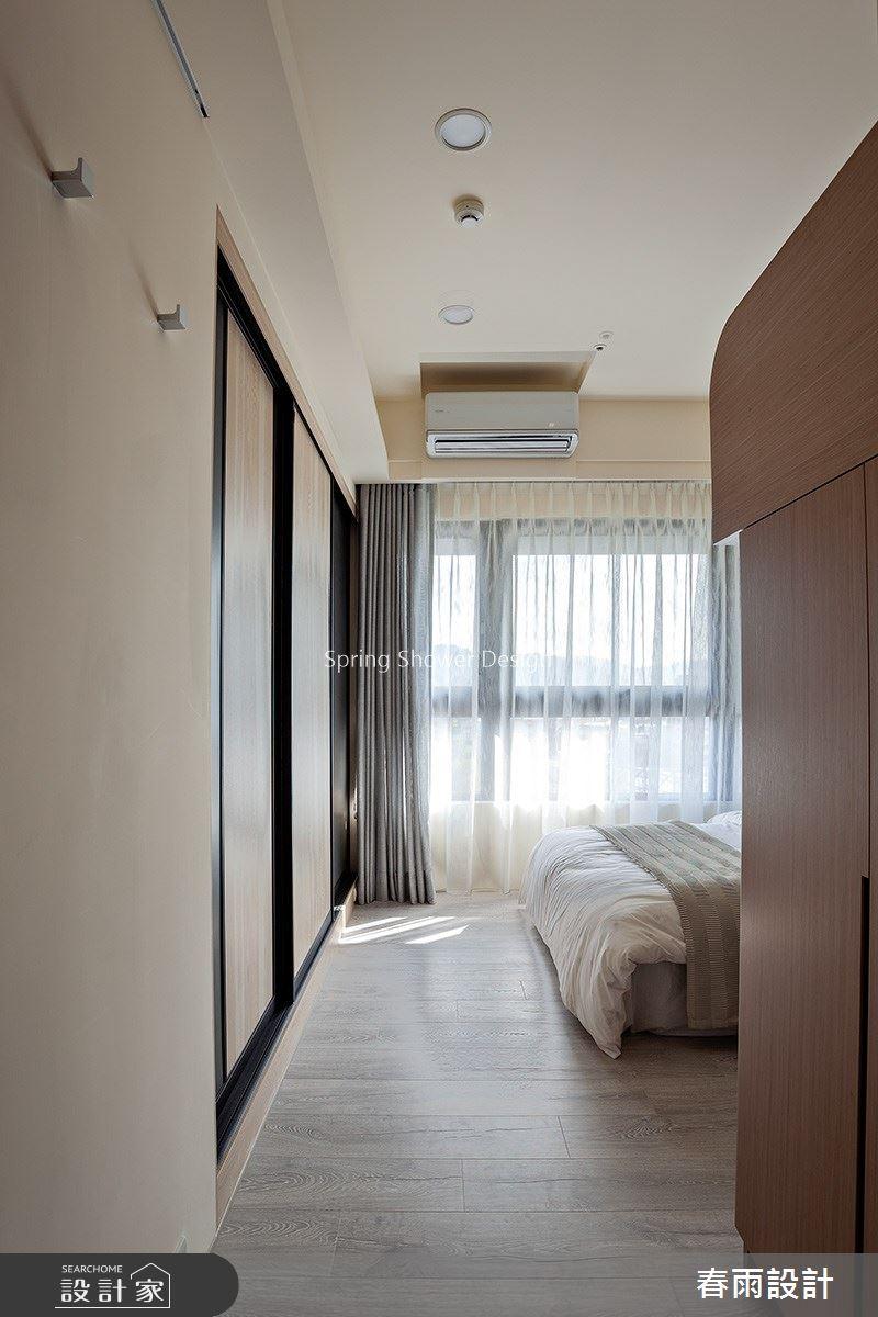 41坪新成屋(5年以下)_現代風臥室案例圖片_春雨設計_春雨_92之28