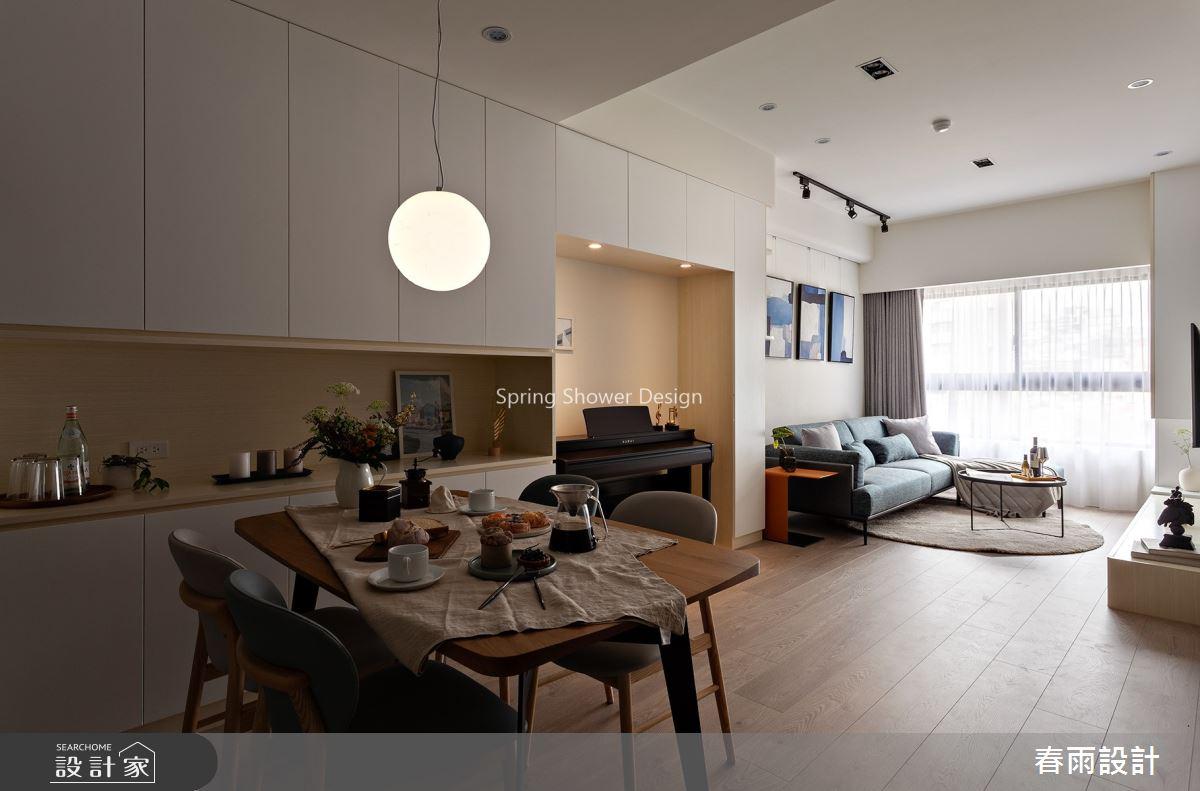 20坪新成屋(5年以下)_北歐風餐廳案例圖片_春雨設計_春雨_93之2