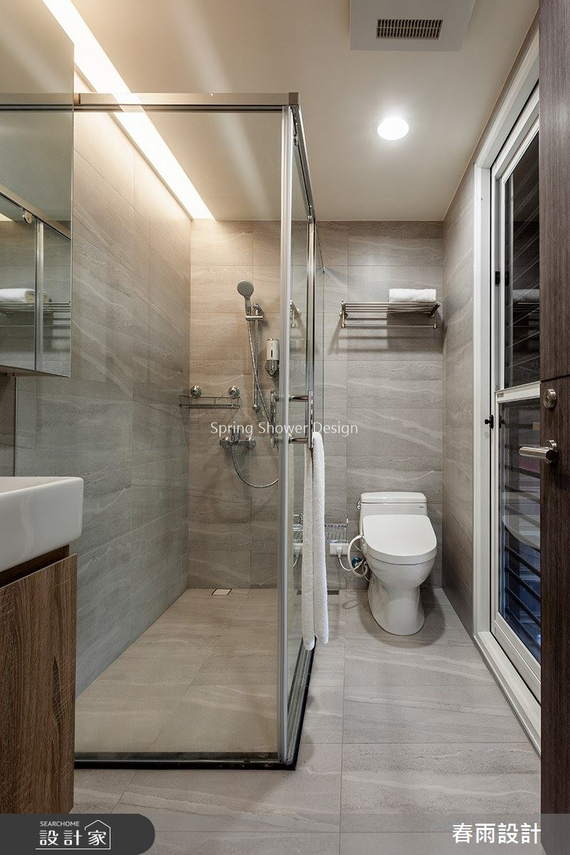 25坪預售屋_現代風浴室案例圖片_春雨設計_春雨_96之30