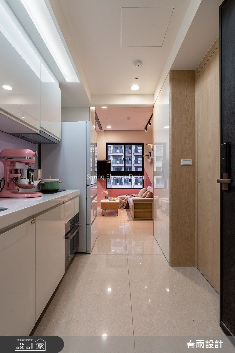 新成屋(5年以下)_北歐風廚房案例圖片_春雨設計_春雨_99之2