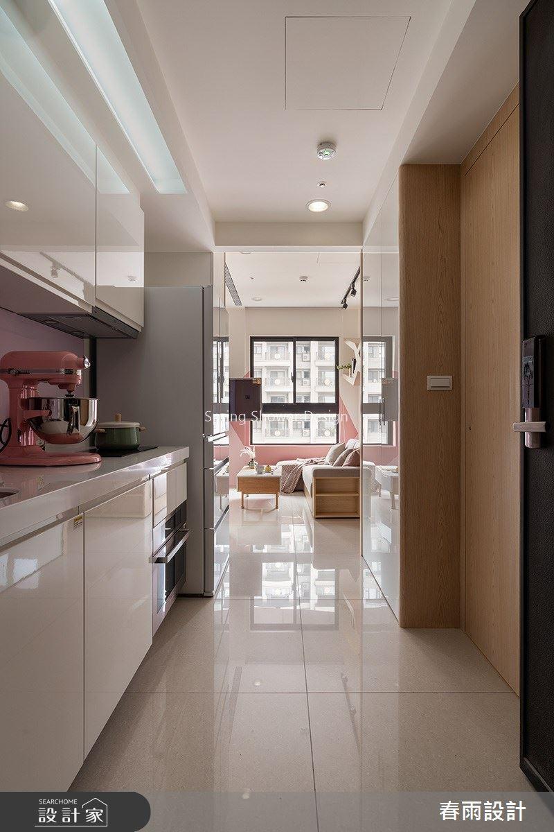 新成屋(5年以下)_北歐風廚房案例圖片_春雨設計_春雨_99之3