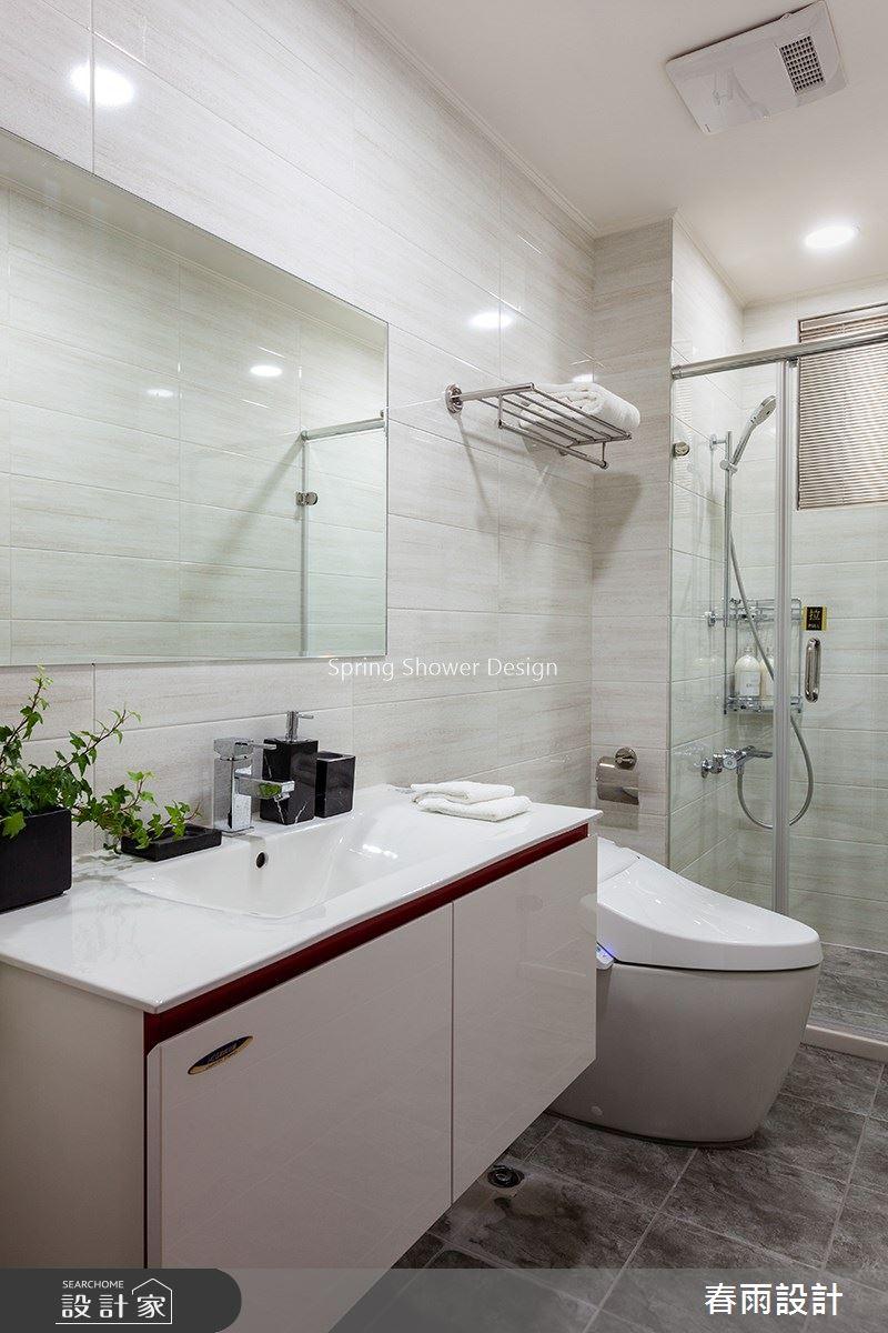 46坪預售屋_新古典浴室案例圖片_春雨設計_春雨_104之20