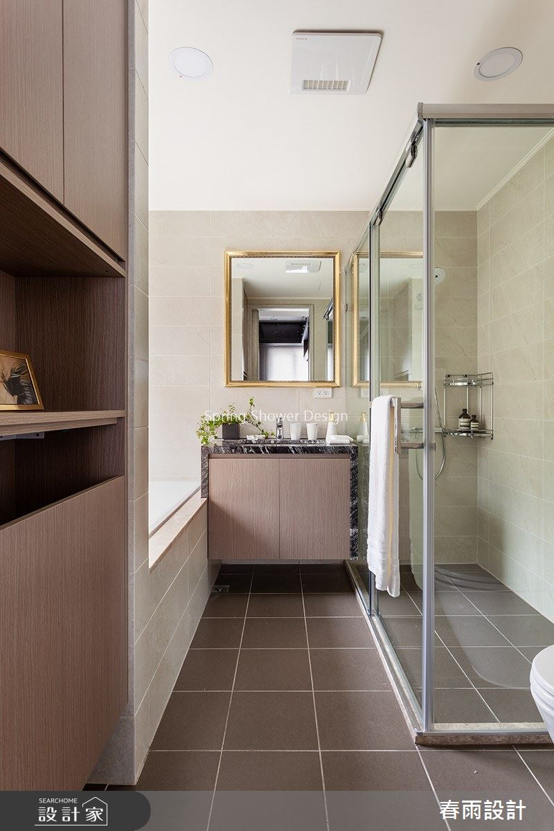 46坪預售屋_新古典浴室案例圖片_春雨設計_春雨_104之29