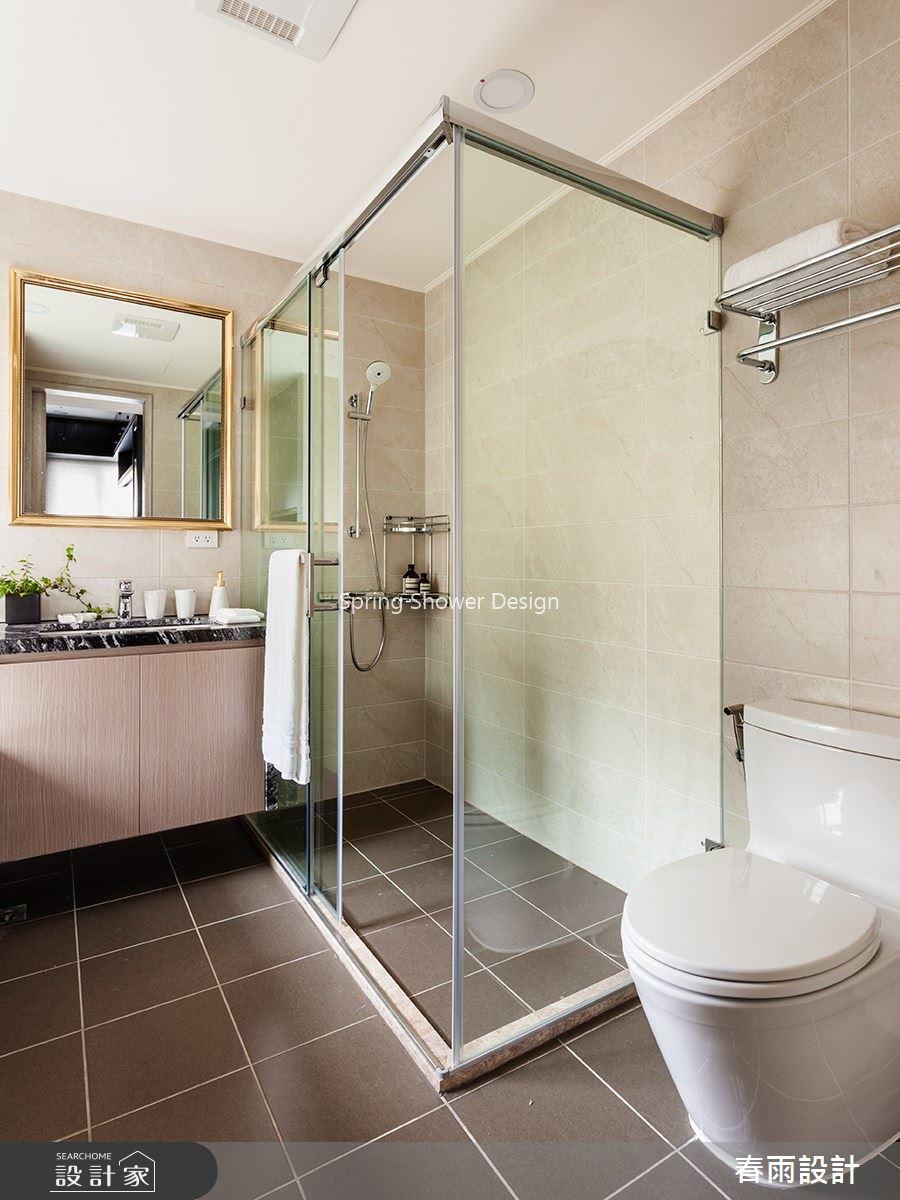46坪預售屋_新古典浴室案例圖片_春雨設計_春雨_104之30