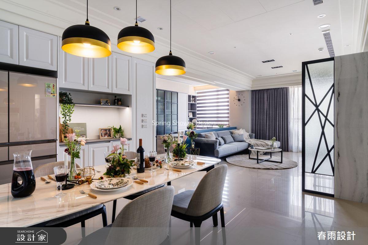36坪新成屋(5年以下)_現代風餐廳案例圖片_春雨設計_春雨_105之4