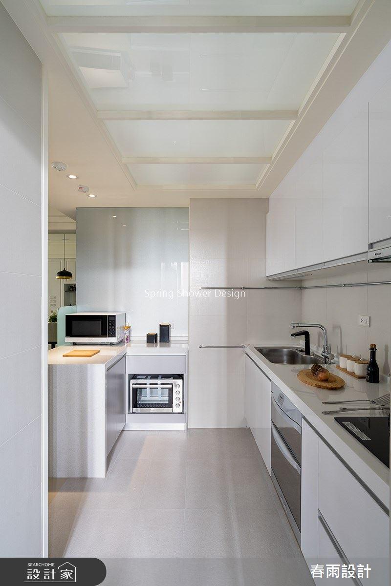 36坪新成屋(5年以下)_現代風廚房案例圖片_春雨設計_春雨_105之5