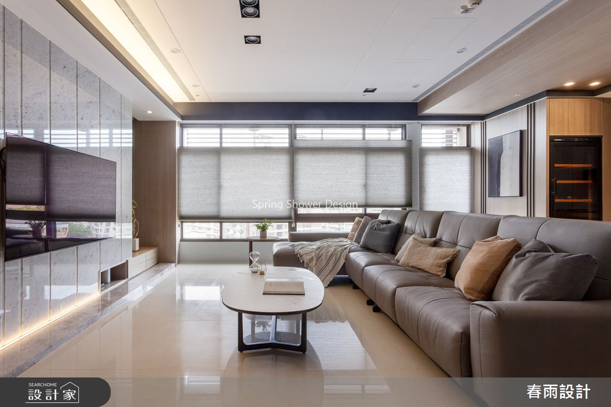 51坪新成屋(5年以下)_現代風客廳案例圖片_春雨設計_春雨_113之1