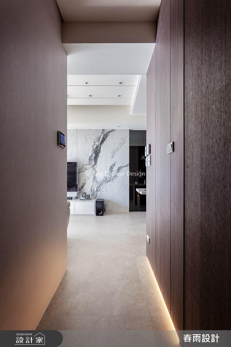 預售屋_現代風走廊案例圖片_春雨設計_春雨_125之19