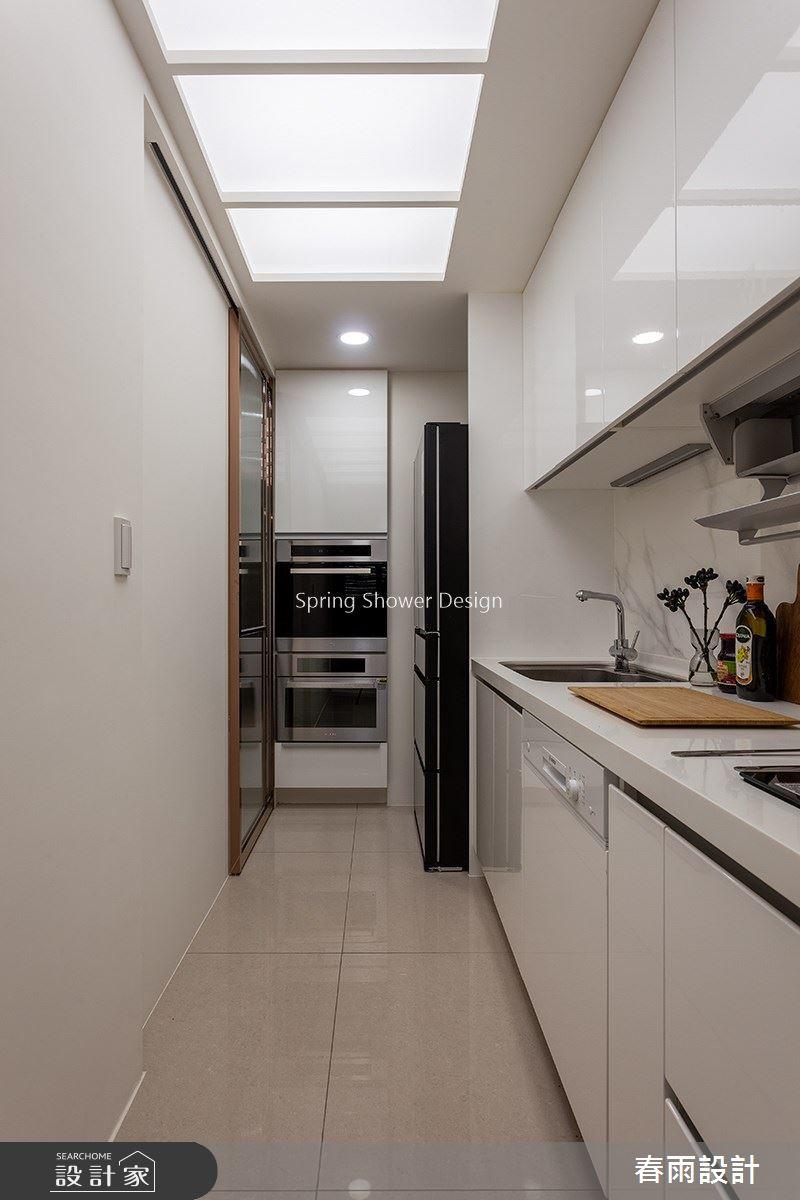 38坪新成屋(5年以下)_飯店風廚房案例圖片_春雨設計_春雨_134之12