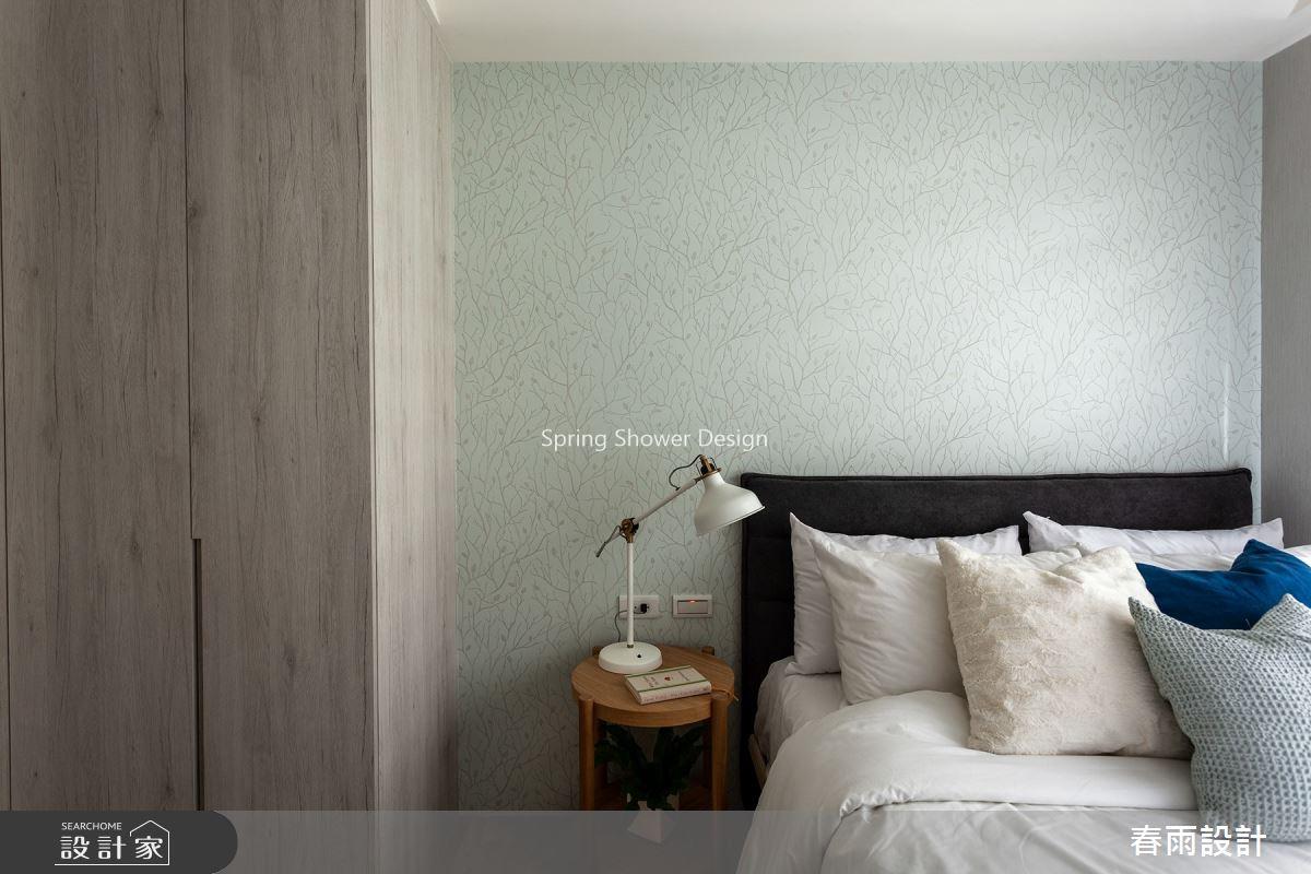 38坪新成屋(5年以下)_飯店風臥室案例圖片_春雨設計_春雨_134之30