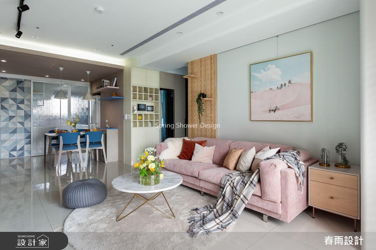 新成屋(5年以下)_北歐風客廳案例圖片_春雨設計_春雨_136之8