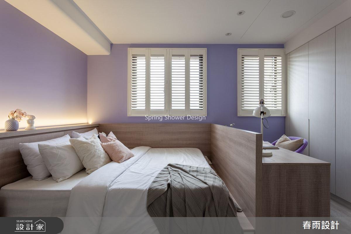 新成屋(5年以下)_北歐風臥室案例圖片_春雨設計_春雨_136之29