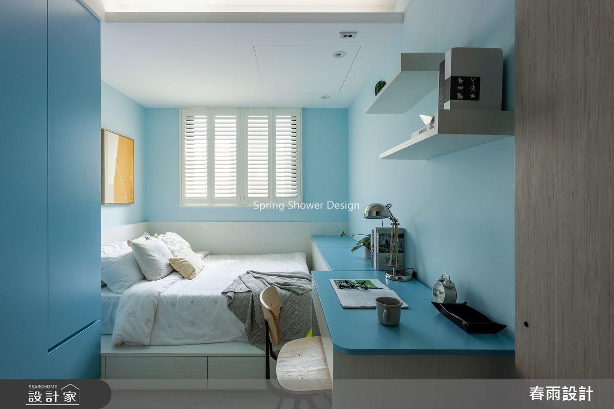 新成屋(5年以下)_北歐風臥室案例圖片_春雨設計_春雨_136之31