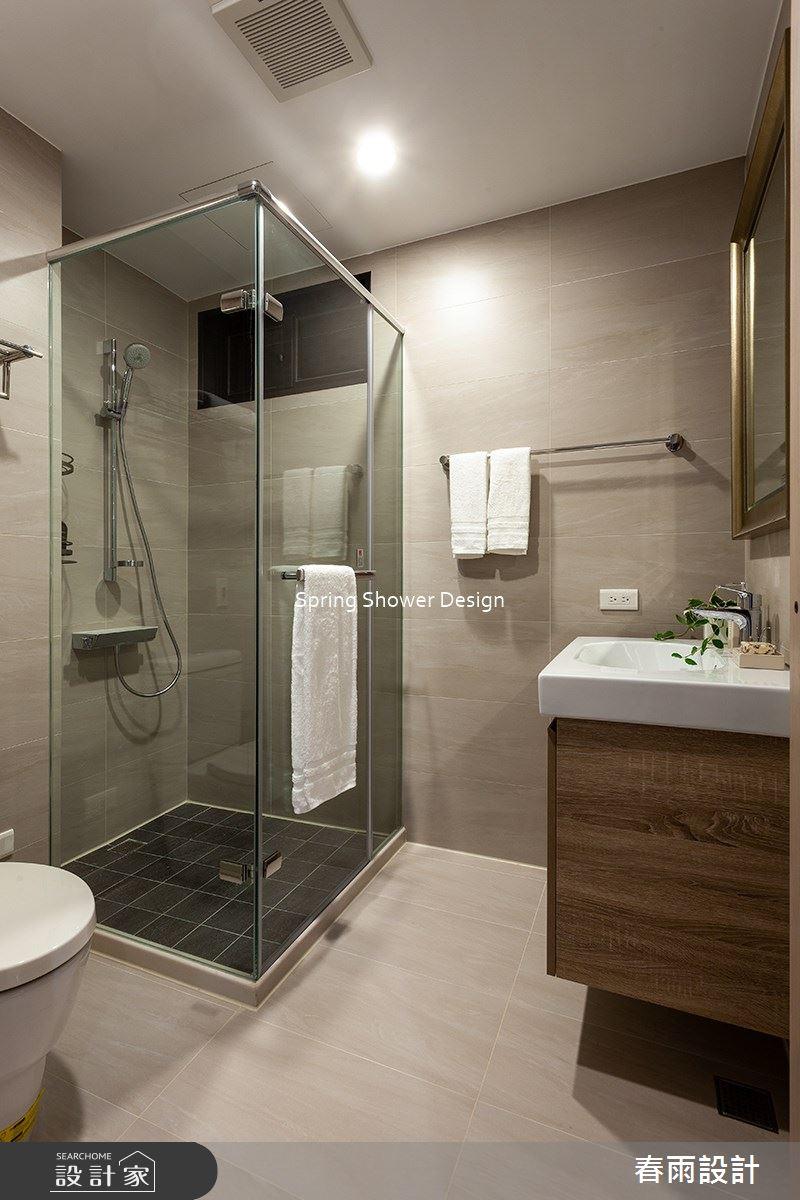 38坪新成屋(5年以下)_現代風浴室案例圖片_春雨設計_春雨_139之15
