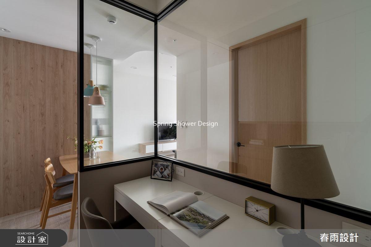 新成屋(5年以下)_現代風書房工作區案例圖片_春雨設計_春雨_142之16