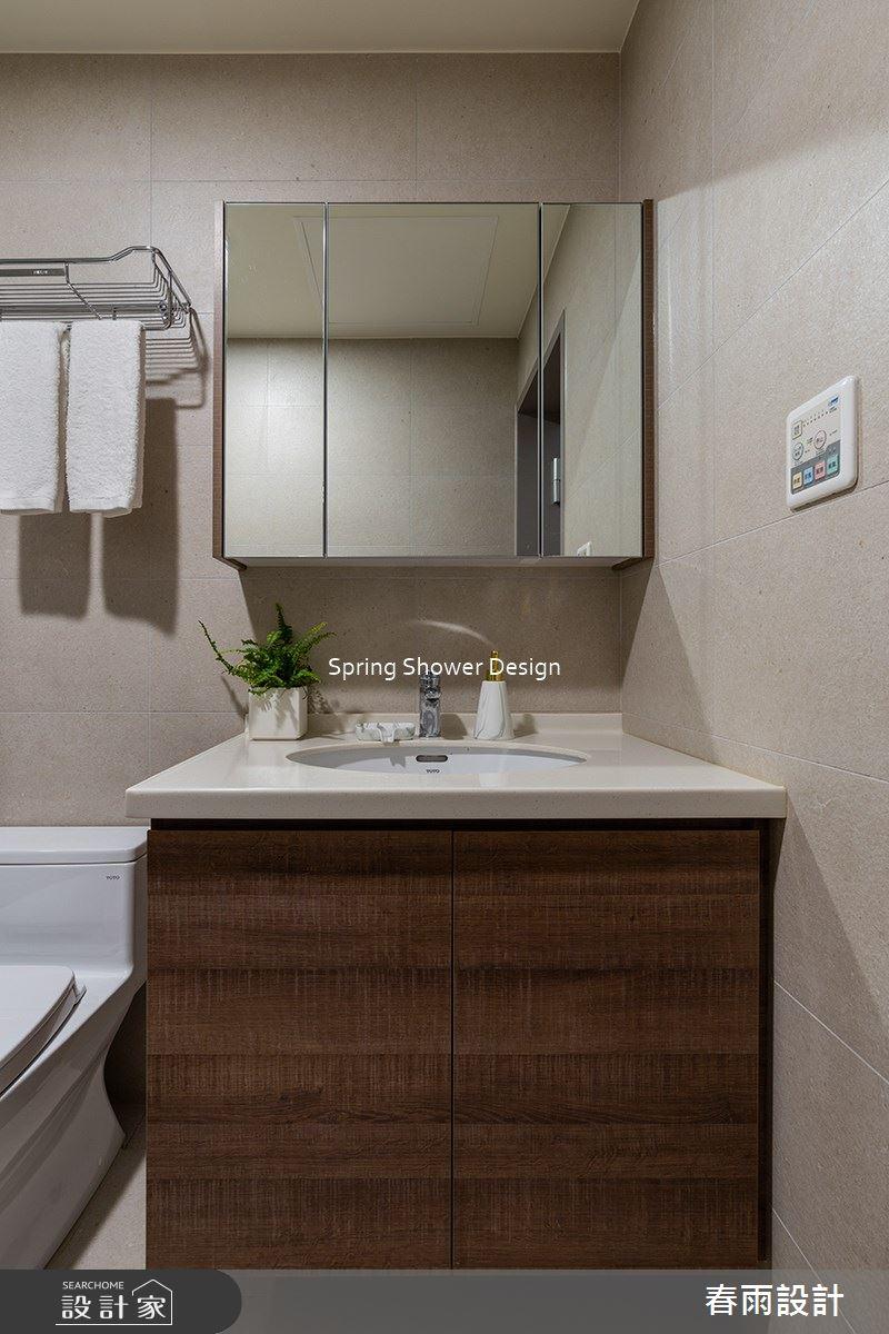 14坪新成屋(5年以下)_現代風浴室案例圖片_春雨設計_春雨_143之32