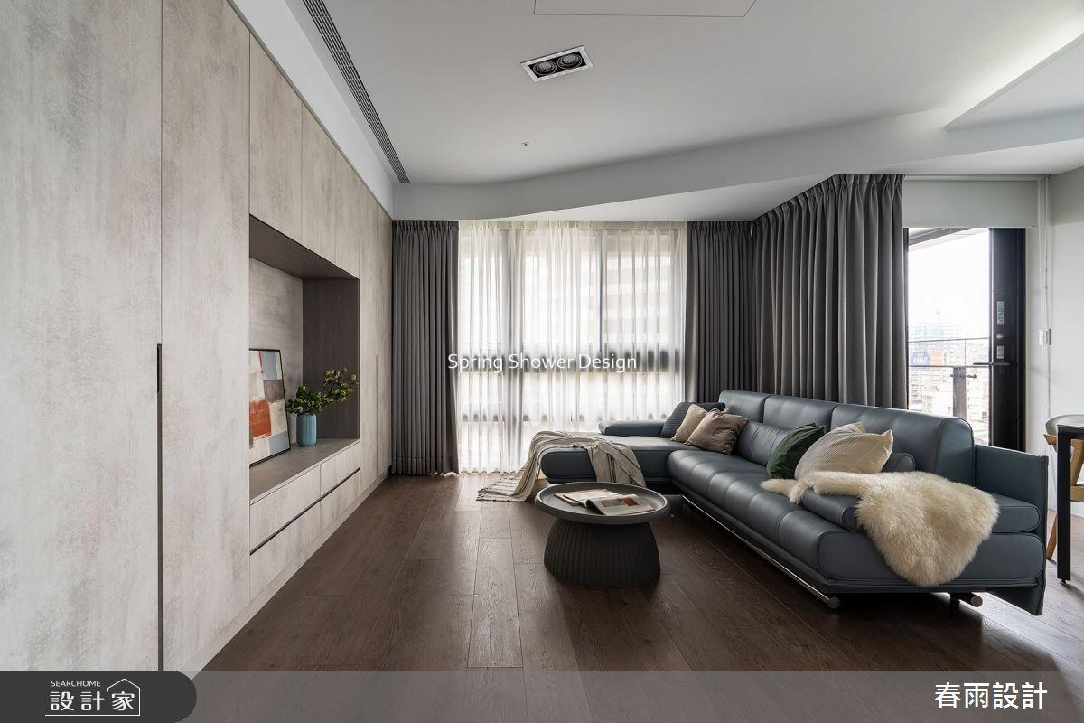29坪新成屋(5年以下)_現代風客廳案例圖片_春雨設計_春雨_144之6