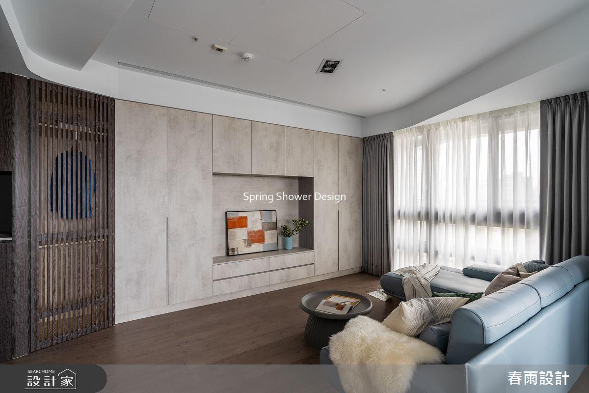 29坪新成屋(5年以下)_現代風客廳案例圖片_春雨設計_春雨_144之7