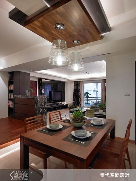 30坪新成屋(5年以下)_現代風餐廳案例圖片_當代空間有限公司_當代_12之6