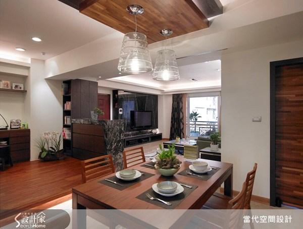 30坪新成屋(5年以下)_現代風餐廳案例圖片_當代空間有限公司_當代_12之5
