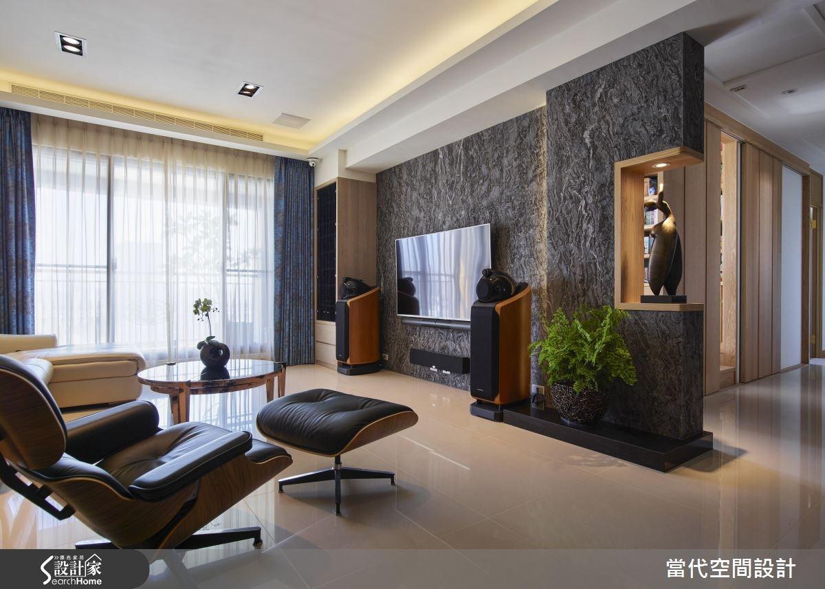 48坪新成屋(5年以下)_現代風客廳案例圖片_當代空間有限公司_當代_22之2