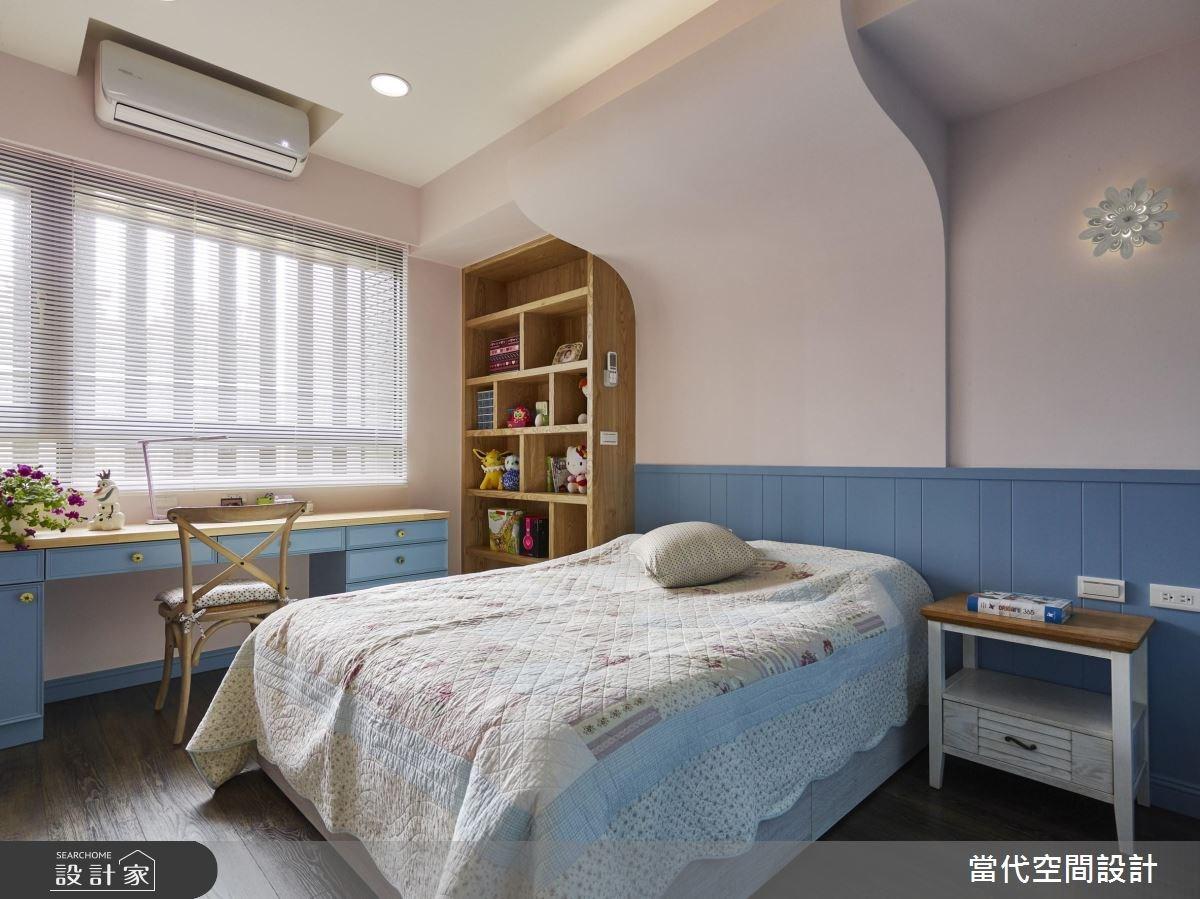 35坪新成屋(5年以下)_鄉村風臥室案例圖片_當代空間有限公司_當代_23之18