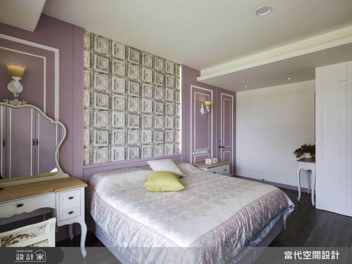 35坪新成屋(5年以下)_鄉村風臥室案例圖片_當代空間有限公司_當代_23之16