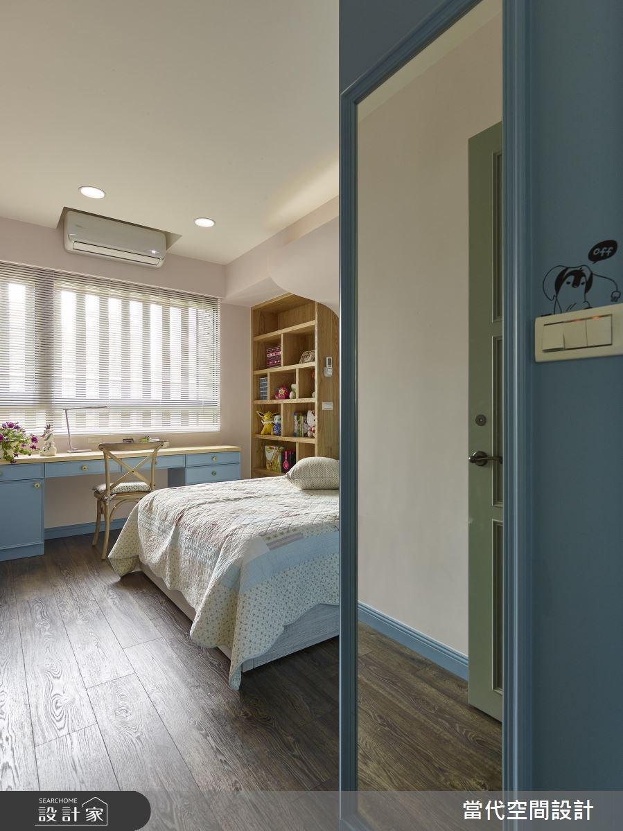 35坪新成屋(5年以下)_鄉村風臥室案例圖片_當代空間有限公司_當代_23之17