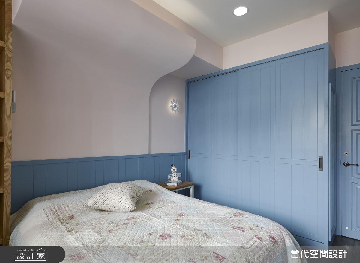 35坪新成屋(5年以下)_鄉村風臥室案例圖片_當代空間有限公司_當代_23之19