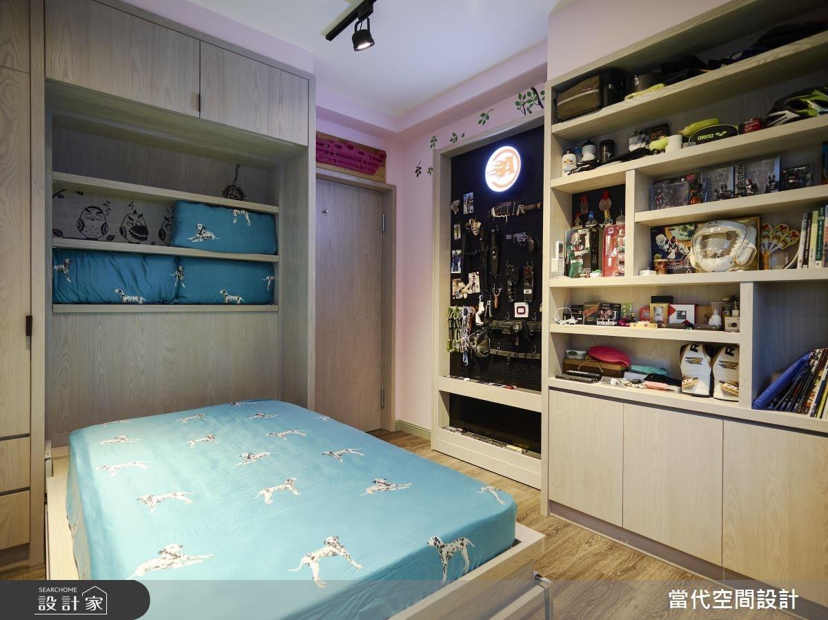 35坪新成屋(5年以下)_鄉村風臥室案例圖片_當代空間有限公司_當代_23之23