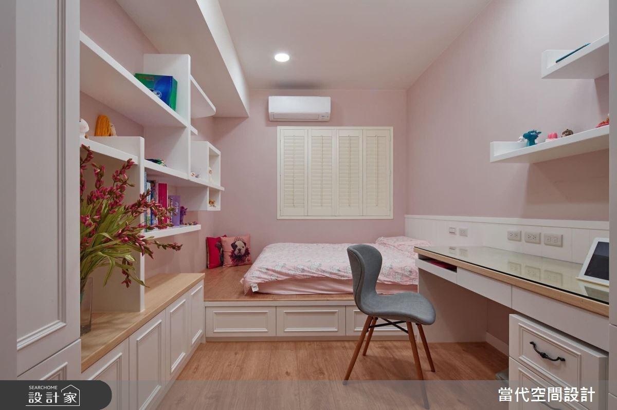 38坪中古屋(5~15年)_美式風臥室案例圖片_當代空間有限公司_當代_25之7