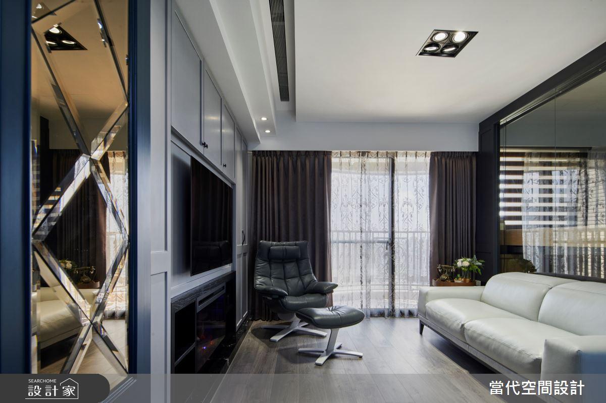 30坪新成屋(5年以下)_美式風案例圖片_當代空間有限公司_當代_27之2