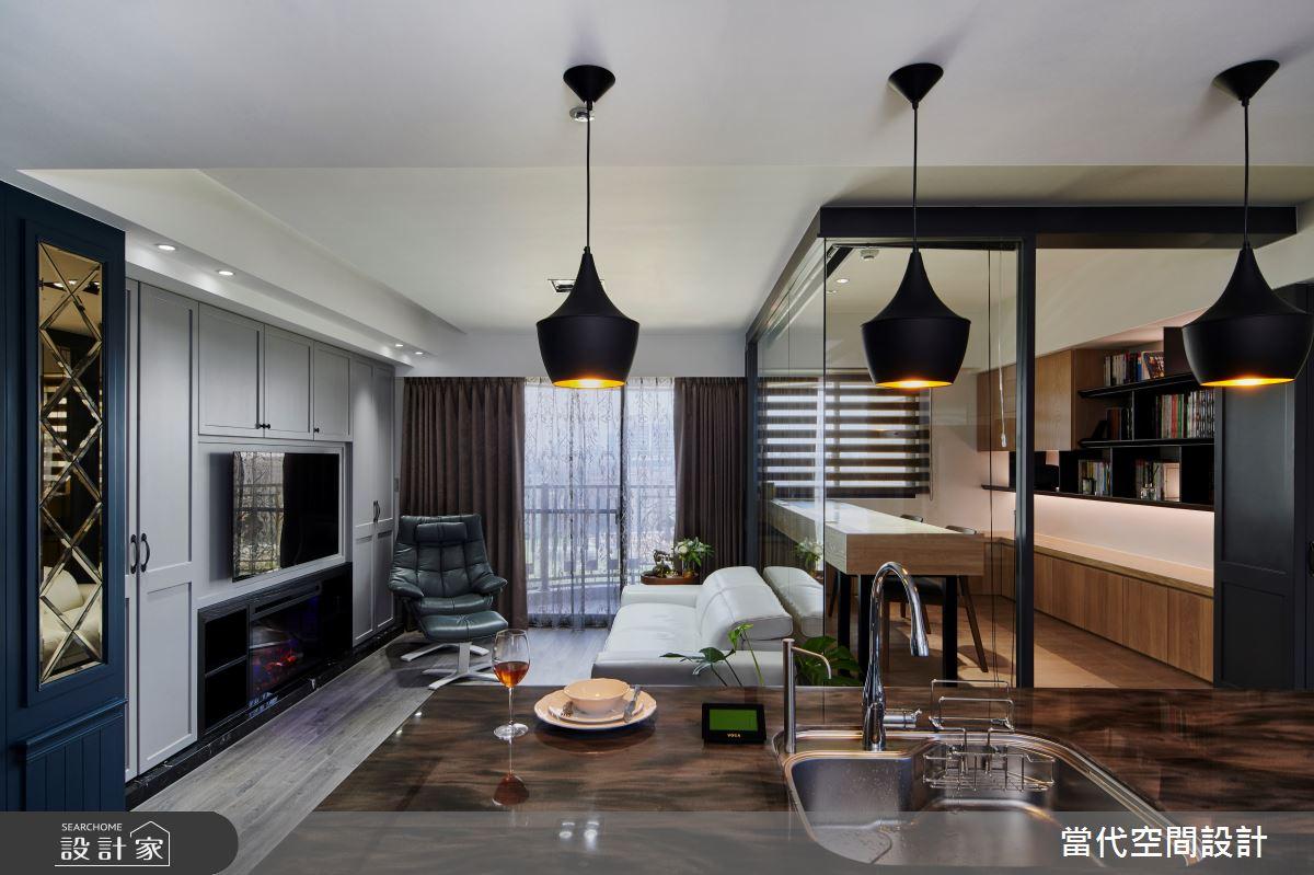 30坪新成屋(5年以下)_美式風案例圖片_當代空間有限公司_當代_27之3