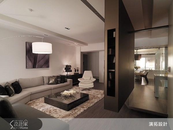 49坪新成屋(5年以下)_現代風客廳案例圖片_演拓空間室內設計_演拓_45之1