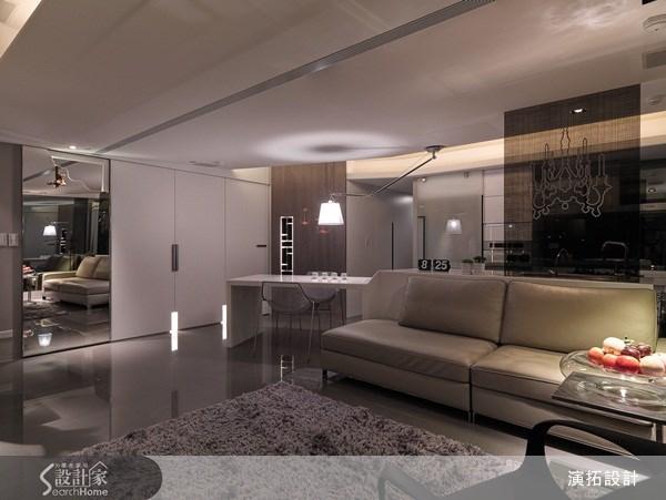 34坪老屋(16~30年)_現代風客廳案例圖片_演拓空間室內設計_演拓_47之2