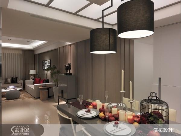 40坪新成屋(5年以下)_現代風餐廳案例圖片_演拓空間室內設計_演拓_49之3