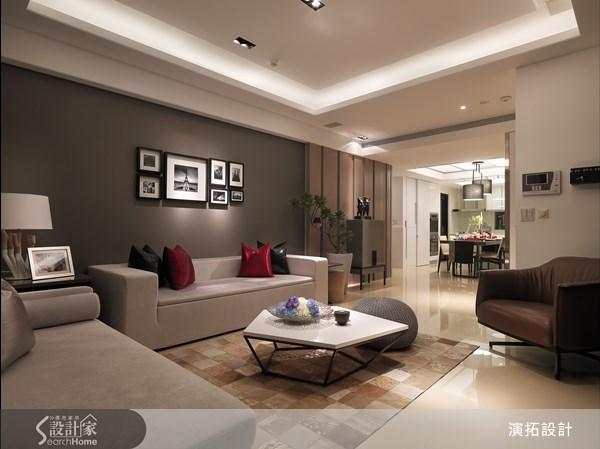 40坪新成屋(5年以下)_現代風客廳案例圖片_演拓空間室內設計_演拓_49之2