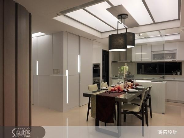 40坪新成屋(5年以下)_現代風餐廳案例圖片_演拓空間室內設計_演拓_49之4