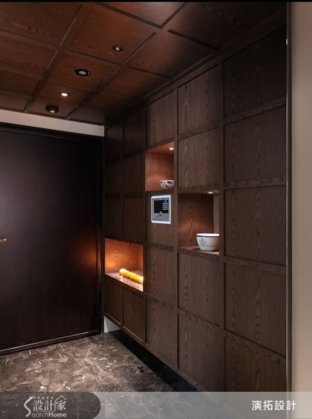 45坪新成屋(5年以下)_現代風玄關案例圖片_演拓空間室內設計_演拓_50之1