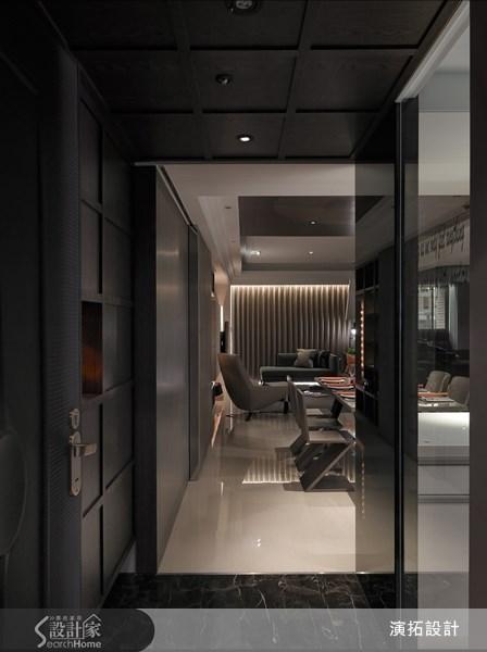 45坪新成屋(5年以下)_現代風玄關案例圖片_演拓空間室內設計_演拓_50之2