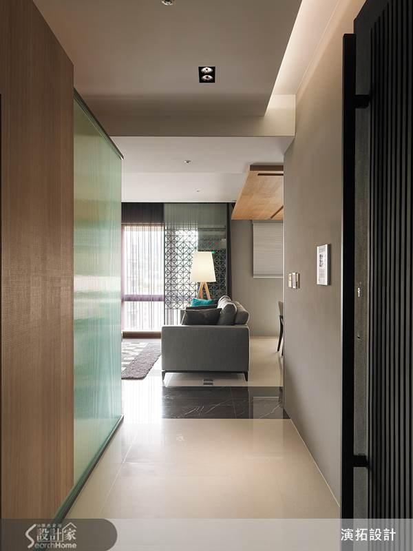 43坪新成屋(5年以下)_現代風玄關案例圖片_演拓空間室內設計_演拓_52之2