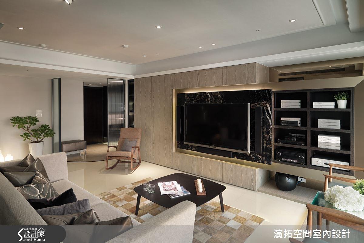 32坪新成屋(5年以下)_現代風客廳案例圖片_演拓空間室內設計_演拓_58之2