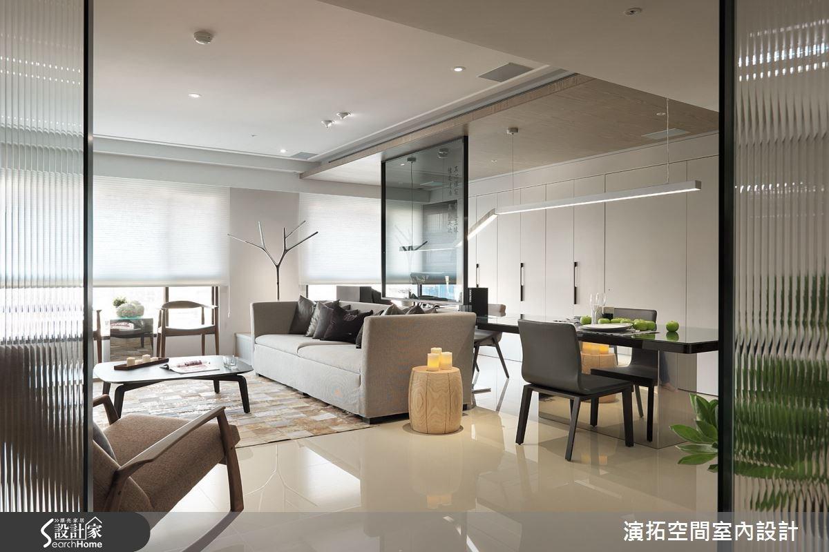 32坪新成屋(5年以下)_現代風玄關案例圖片_演拓空間室內設計_演拓_58之3